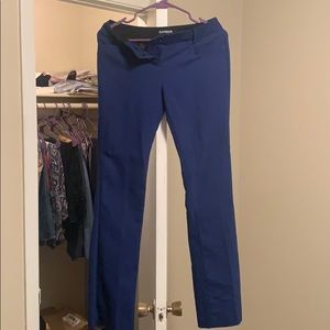 Express Royal Blue Slacks